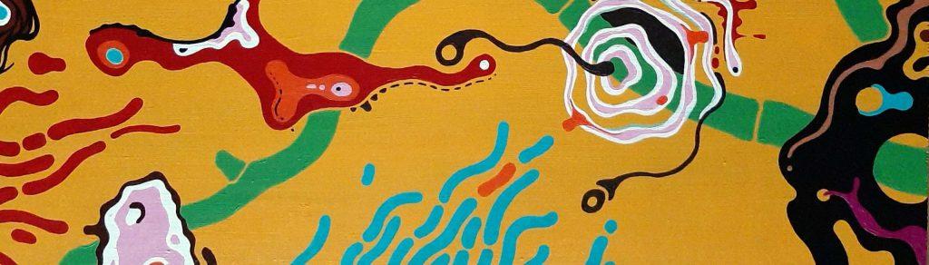 Kunstwerk von Ralph Witte zum dekorativen Zweck